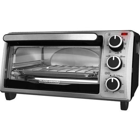 Black Decker Toaster Oven Reviews - black decker 4 slice toaster oven stainless steel