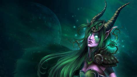 World Of Warcraft Night Elf Wallpaper World Of Warcraft Wallpapers Hd Pixelstalk Net