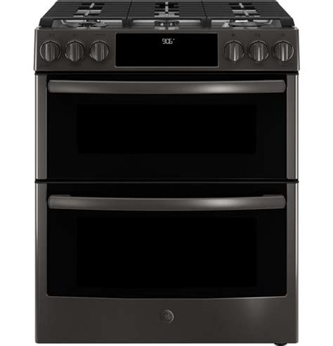 ge profile series pgsselss    front control gas double oven convection range