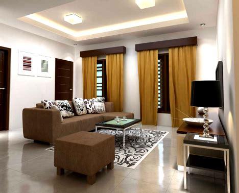 contoh desain interior rumah sederhana  terlihat