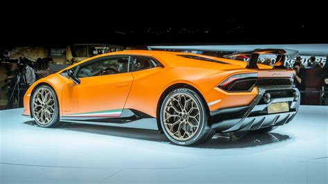 Exotic Lamborghini Huracan Performante Debuts At Geneva