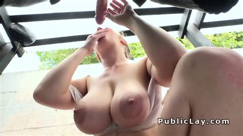 amateur with natural huge tits outdoor fucking eporner