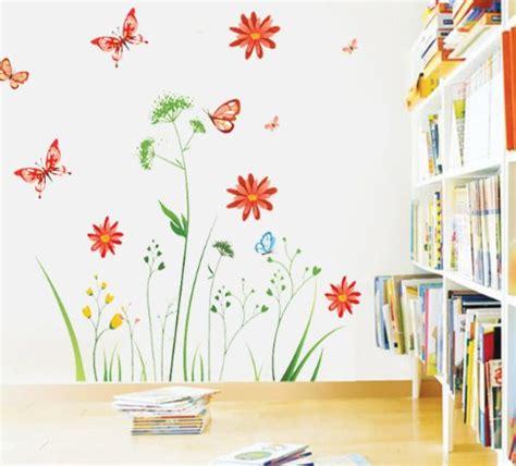 Wandtattoo Kinderzimmer Blumen by Blumen Archive Wandsticker De