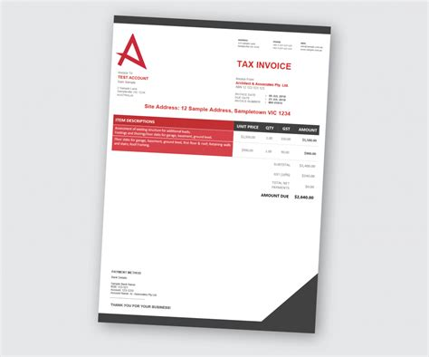 custom xero templates designed  business docx