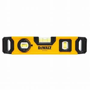 DEWALT 9 in Torpedo Level-DWHT43003 - The Home Depot