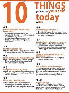 10 Things You Must Tell Yourself Pictures, Photos, and ...
