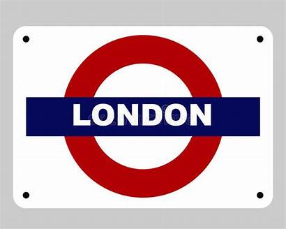 Underground London Sign Tube Illustration