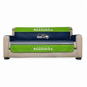 buy nfl seattle seahawks sofa cover from bed bath beyond With nfl furniture covers