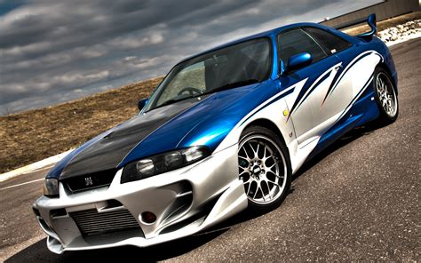 Nissan Skyline Gtr R33 Wallpaper ·①