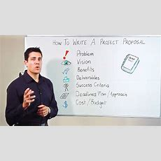 Project Proposal Writing How To Write A Winning Project Proposal Youtube