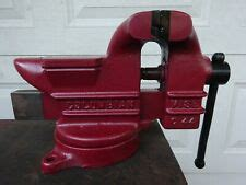 vintage  columbian  swivel bench vise usa ebay