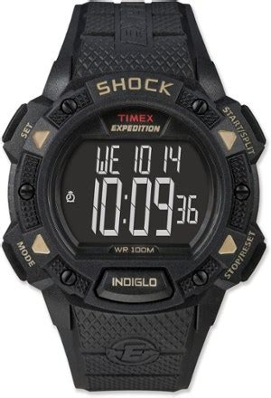 timex expedition shock  mens rei  op