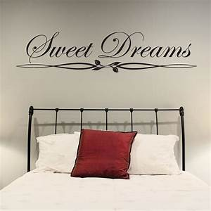 Bedroom wall stickers decorate the