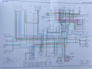 Cb1000r North American Specific Wiring Diagram