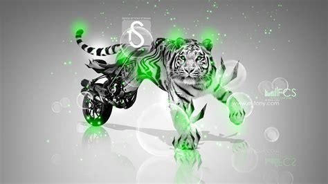 ducati streetfighter  fantasy tiger  el tony