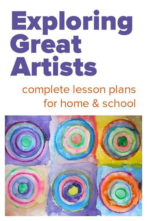 kids art lessons great artistsjpg