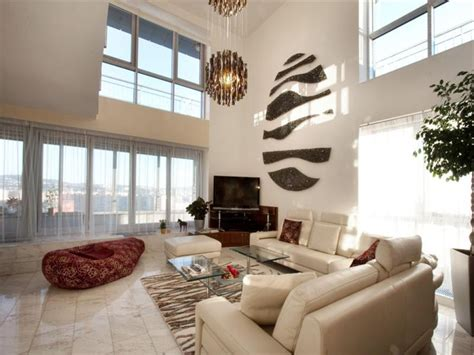 High Ceiling Living Room by Lighting For High Ceilings Living Room Modern With Area