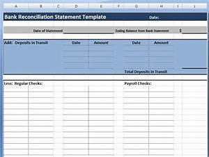 bank reconciliation excel template madosahkotupakkaco With bank reconciliation template xls