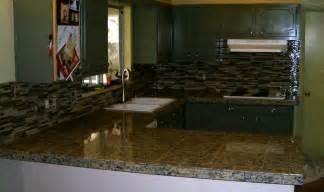 tile backsplash for kitchens with granite countertops kitchen granite tile countertop and glass backsplash