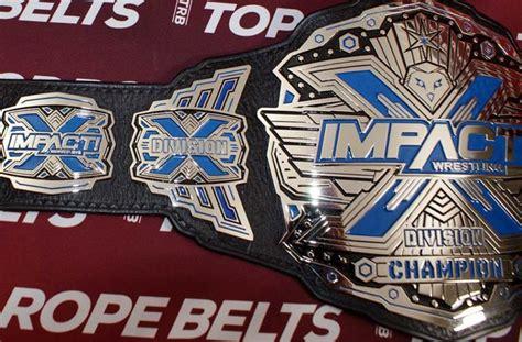 impact world championship belt top rope belts