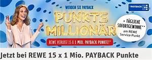 Payback Punkte Prämien : rewe payback punkte million r aktion im check ~ A.2002-acura-tl-radio.info Haus und Dekorationen