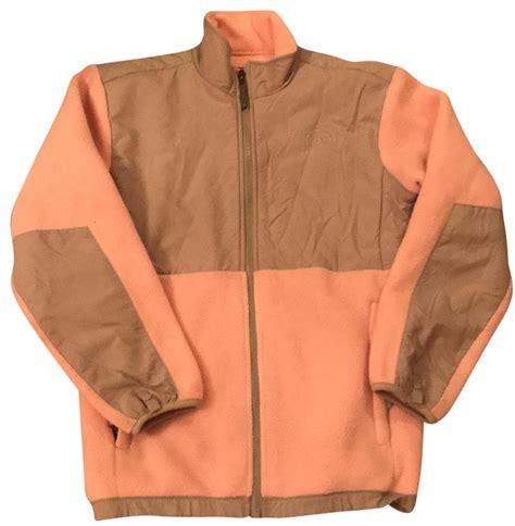 light pink north face fleece the north face pink light fleece activewear jacket size 4