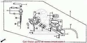 Honda Z50r 1984  E  Usa Carburetor