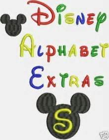 Disney Font Machine Embroidery Designs