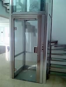 domuslift ascenseur elevateur privatif avec structure a l With ascenseur interieur maison prix
