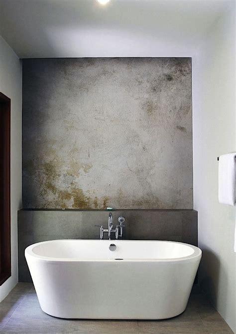 Wall Ideas For Bathroom by Best 25 Concrete Bathroom Ideas On Concrete