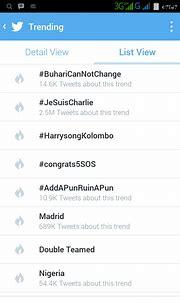 #buharicannotchange Now Trending On Twitter - Politics ...