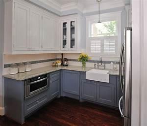 cuisine blanche et aubergine great excellent formidable With cuisine blanche mur aubergine