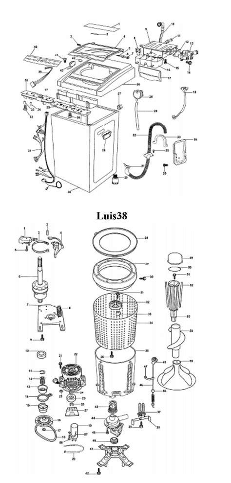 solucionado lavadora eslabon de lujo awr 680 problemas con el agitador yoreparo