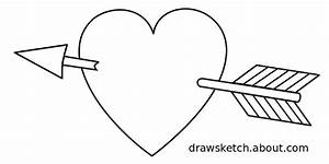 Heart Line Drawing Clip Art (61+)
