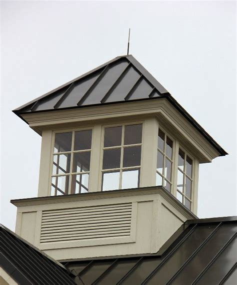 A Cupola by Cupolas Square Venting Cupola With Windows And Standing