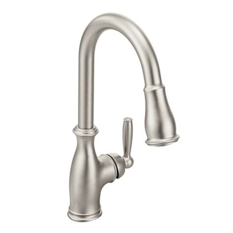 stainless kitchen faucet 7185srs moen brantford series kitchen faucet spot