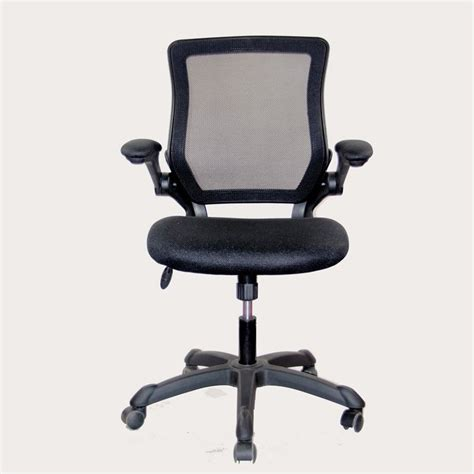 techni mobili mesh task office chair in black rta 8050 bk
