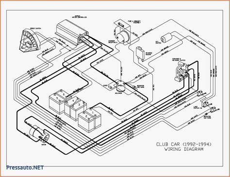 Ez Go 36 Volt Wiring Diagram by 36 Volt Ezgo Wiring 1995 Wiring Diagram