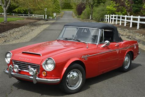 Datsun 1600 For Sale by No Reserve 1967 5 Datsun 1600 Roadster For Sale On Bat
