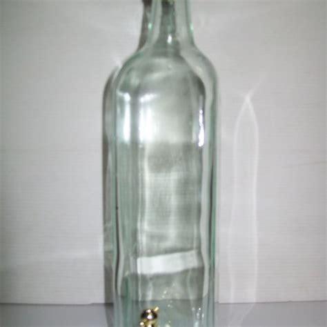bottiglie con rubinetto bottiglia rubinetto 1 litro enotecnica albese enologia
