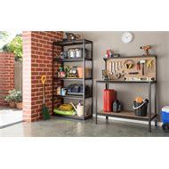 pinnacle compact garage workbench bunnings warehouse