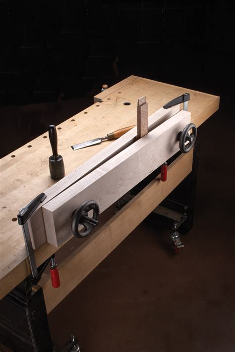 tool test benchcrafted double screw moxon vise popular woodworking magazine