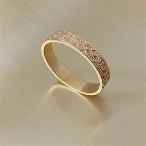 art deco ring womens wedding band gold art deco style With female wedding rings