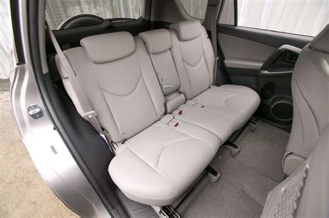 toyota rav limited rear seats picture pic image