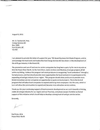 business letter format grade  sample business letter