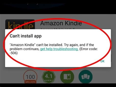 how to fix can t install app error code 506 in play store