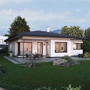 Was Ist Ein Bungalow : elk bungalow 125 im bauhausstil elk fertighaus hausbaudirekt ~ Buech-reservation.com Haus und Dekorationen