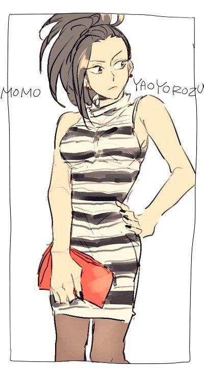 boku no hero academia momo yaoyorozu bnha pinterest academia