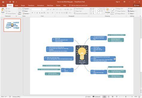 kostenlose mind map vorlagen fuer word powerpoint und