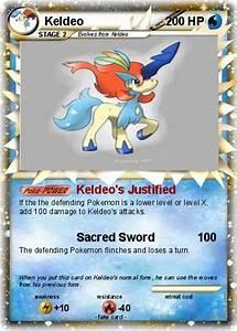 Pokémon Keldeo 693 693 - Keldeo's Justified - My Pokemon Card